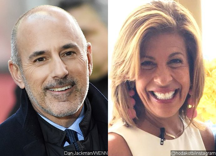 Matt Lauer Texts Hoda Kotb After She's Announced as His 'Today' Replacement