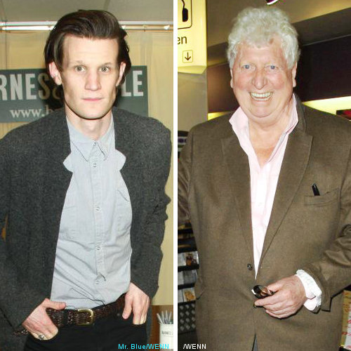 Matt Smith and Tom Baker Pay Tribute to Elisabeth Sladen