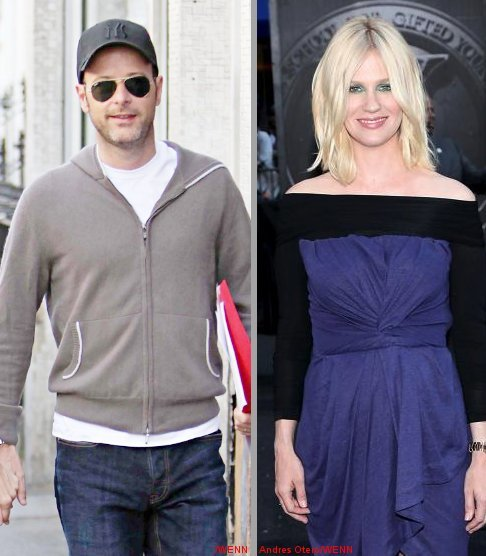 Matthew Vaughn Denies He's the Father of January Jones' Baby