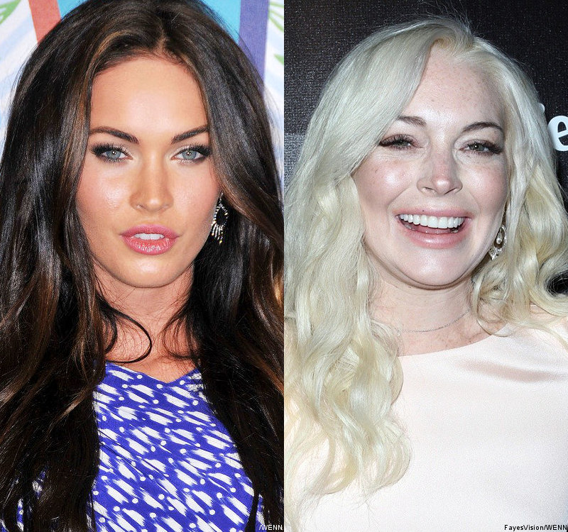 Megan Fox Joins Lindsay Lohan in Shortlist for Elizabeth Taylor Biopic