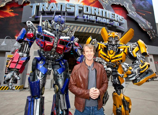 Michael Bay Denies 'Transformers 4' Is a Reboot, Wants It to Take Place in Outer Space