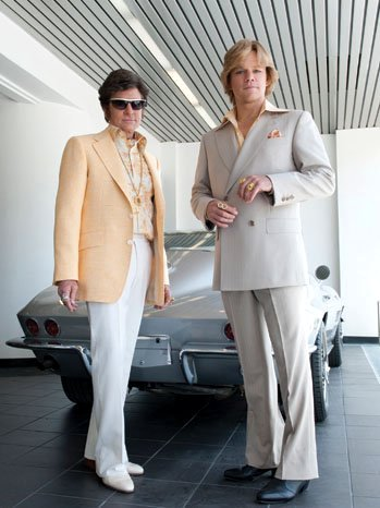 First Official Image of Michael Douglas and Matt Damon in HBO's 'Behind the Candelabra'