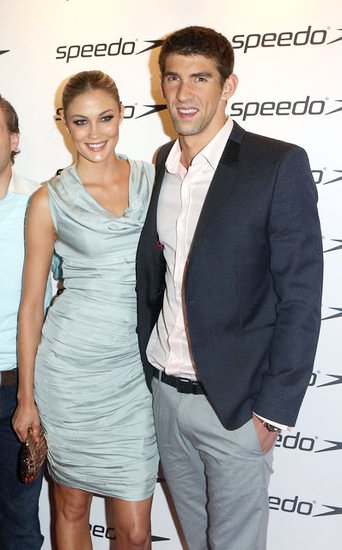 Michael Phelps and Megan Rossee Make Red Carpet Debut as a Couple