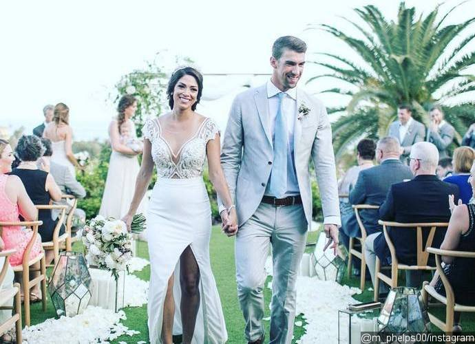 Newlyweds Michael Phelps and Nicole Celebrate Secret Wedding With Cabo Ceremony