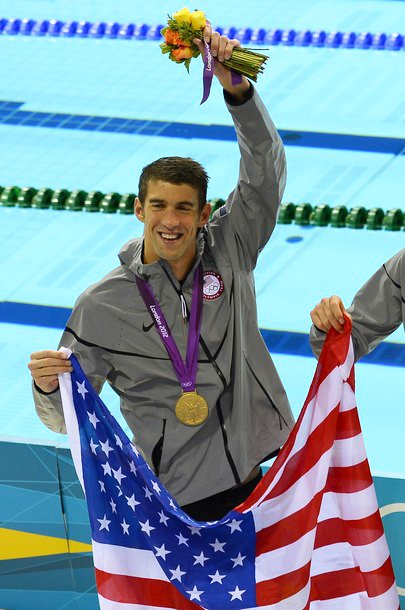 Michael Phelps Makes Olympics History With His 19th Medal in London
