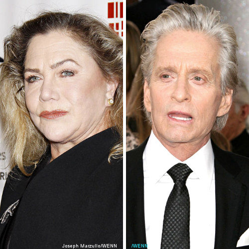 Michael Douglas Shows Up for Kathleen Turner's Broadway ...
