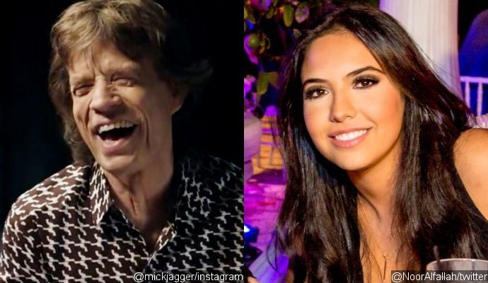 Mick Jagger Is Romancing 22-Year-Old Noor Alfallah After Several 'Romantic Paris Dates'
