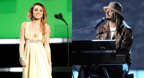 Videos: Miley Cyrus and Kid Rock Perform at CNN Heroes 2011