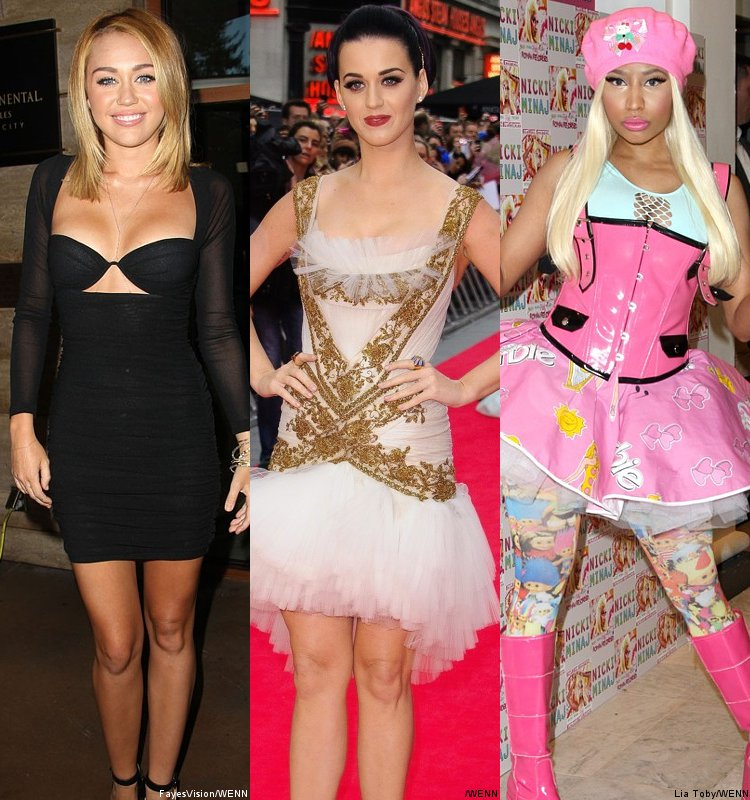 Report: Miley Cyrus, Katy Perry and Nicki Minaj Also Eyed as 'American Idol' Judges