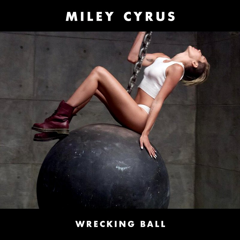 Miley Cyrus' 'Wrecking Ball' Named Vevo's Most Watched Video of 2013