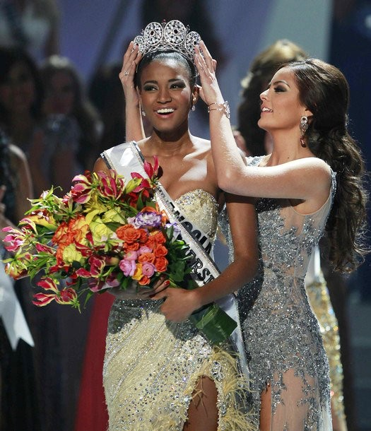 Miss Angola Leila Lopes Crowned Miss Universe 2011