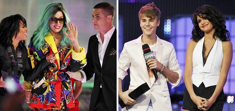 2011 MMVAs: Lady GaGa and Justin Bieber Lead Full Winner List
