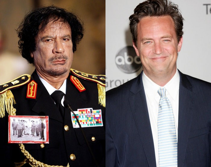 Muammar Gaddafi's Death Correctly Predicted by Matthew Perry's Old Sitcom
