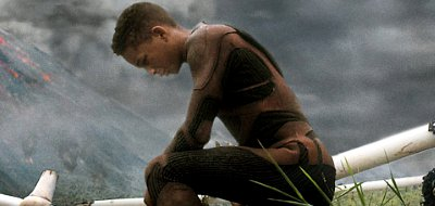 Will Smith and his son Jaden are estranged in a dystopian world in 'After Earth'