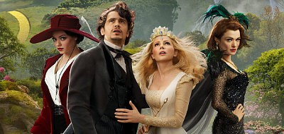 James Franco, Mila Kunis, Michelle Williams and Rachel Weisz star in 'Oz: The Great and Powerful'
