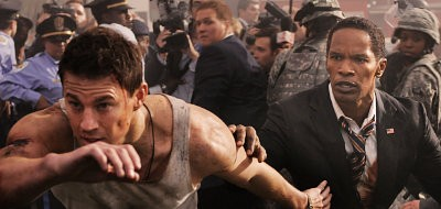 Channing Tatum is tasked to save the President in 'White House Down'