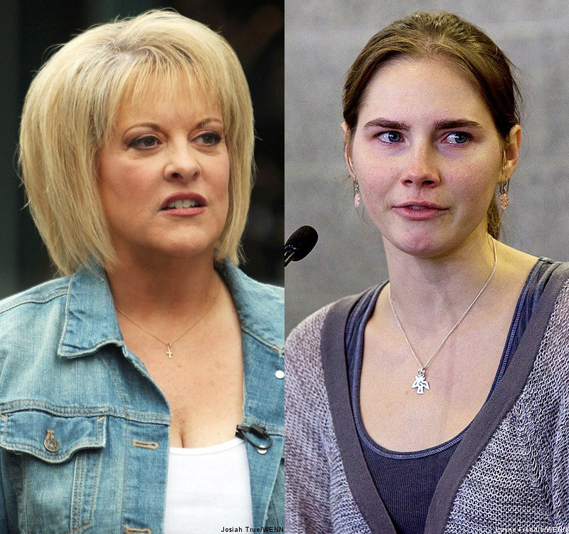 Nancy Grace Calls Amanda Knox Acquittal 'Miscarriage of Justice'