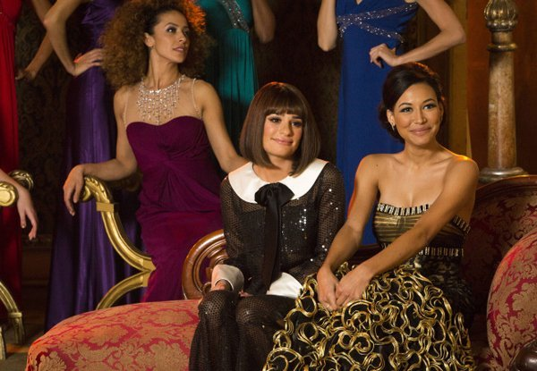 Naya Rivera Not Fired From 'Glee', but Written Out of Season Finale