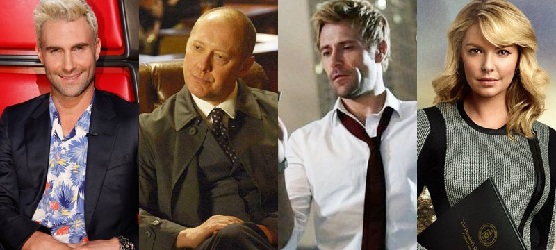 NBC Announces Fall 2014 Premiere Dates for 'The Blacklist', 'Constantine' and More