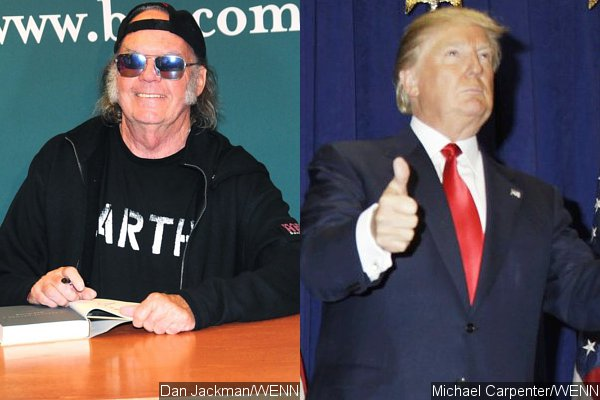 Neil Young Blasts Donald Trump Over Unauthorized Use of 'Rockin' in the Free World'