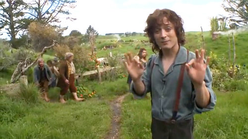 New 'The Hobbit' Production Video: Tiptoeing Into the Filming in Hobbiton