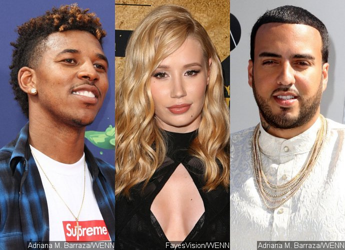Nick Young Kisses New Girl as Ex Iggy Azalea Flaunts Diamond Rings From French Montana