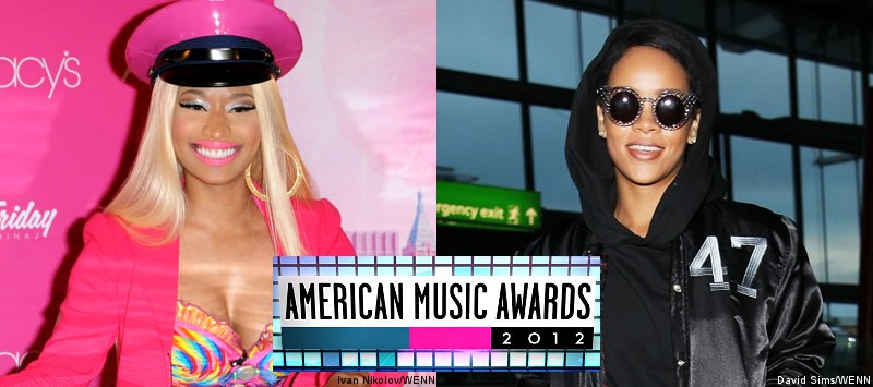 Nicki Minaj and Rihanna Lead Nominations of 2012 American Music Awards