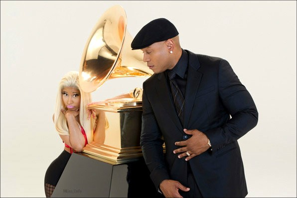Nicki Minaj Upsets LL Cool J With Her Confession in Grammys 2012 Promo