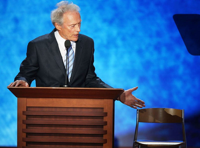 Obama and Celebrities React to Clint Eastwood's Speech to Empty Seat