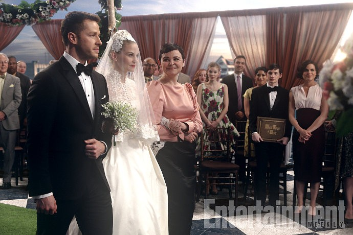 'Once Upon a Time': Get First Look at Emma's Wedding in Musical Episode