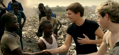 One Direction's Louis Tomlinson and Niall Horan Spend One Day in A Slum for New Red Nose Day Video