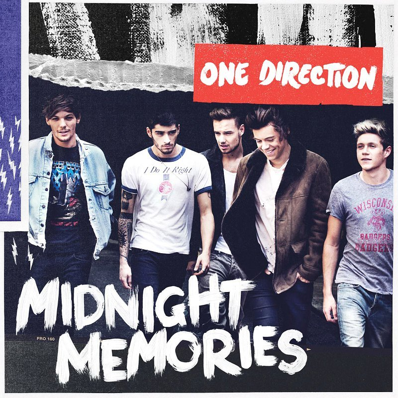 One Direction Scores Third No. 1 Album on Billboard 200 With 'Midnight Memories'