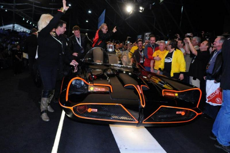 Original Batmobile From Batman TV Series Sells for $4.6M at Auction