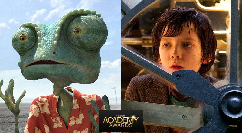 Oscars 2012: 'Rango' Wins Best Animated Film as 'Hugo' Grabs Its Fifth Golden Statuette