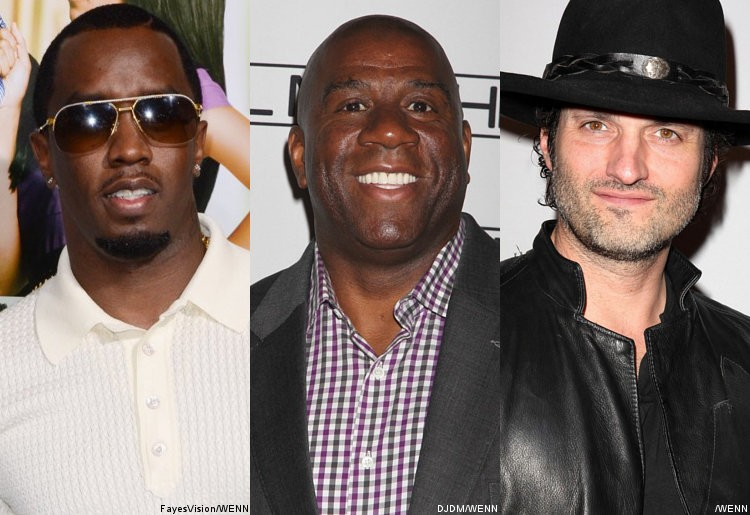 P. Diddy, Magic Johnson and Robert Rodriguez to Launch Cable Channels Through Comcast