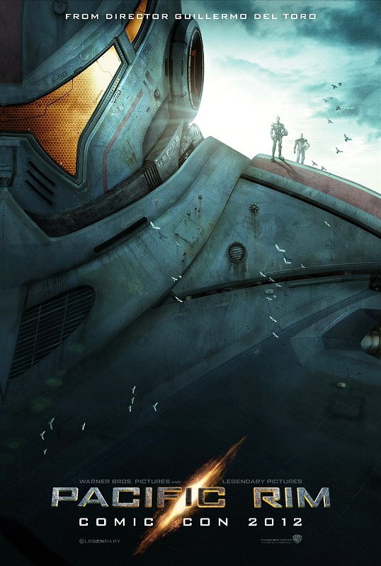 First 'Pacific Rim' Poster Highlights Super Massive Jaeger
