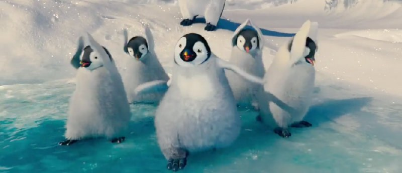 Penguins Rapping Justin Timberlake's 'SexyBack' in 'Happy Feet Two' Teaser Trailer