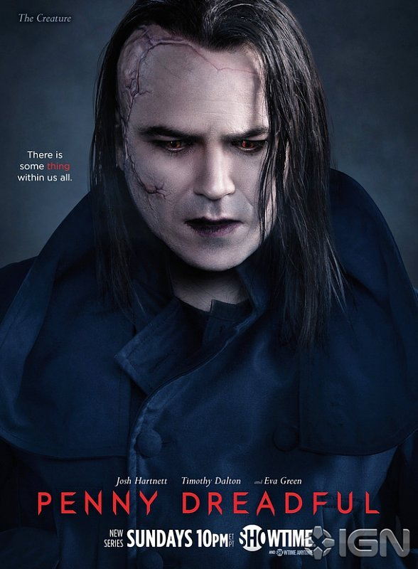 'Penny Dreadful' Highlights The Creature in New Poster and Video