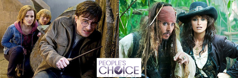 2012 People's Choice Awards Nominees in Movie: 'Harry Potter', 'Pirates of the Caribbean' and More