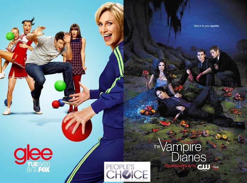 2012 People's Choice Awards Nominees in TV: 'Glee', 'Vampire Diaries' and More