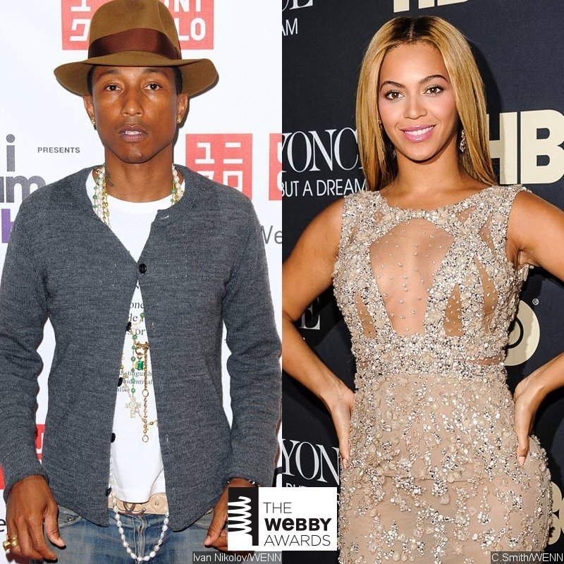 Pharrel Williams, Beyonce Among Webby Awards Winners