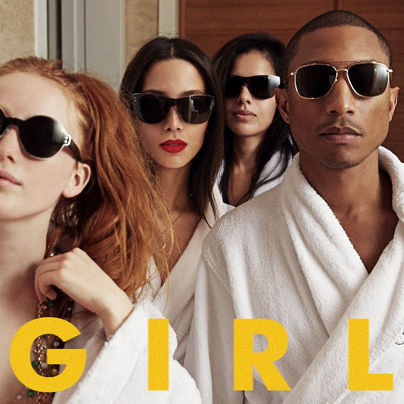Pharrell 'Disappointed' by 'G I R L' Album Cover Controversy