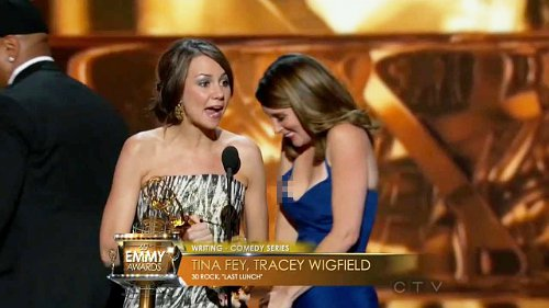Picture of Tina Fey's Nip Slip at Emmy Awards Emerges Online