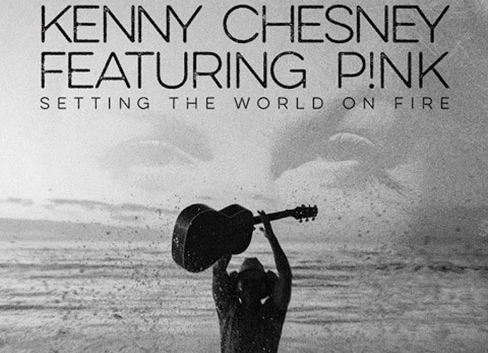 Listen to Pink and Kenny Chesney's New Song 'Setting the World on Fire'