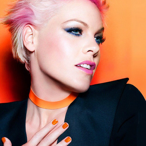 Pink Congratulated by Ellen DeGerenes After Signing as Newest CoverGirl