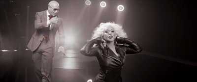 ... for: Billboard Pitbull Christina Aguilera Feel This Moment Around