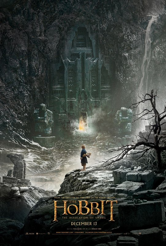First Poster for 'Hobbit: Desolation of Smaug' Sees Bilbo Baggins Near the Lonely Mountain
