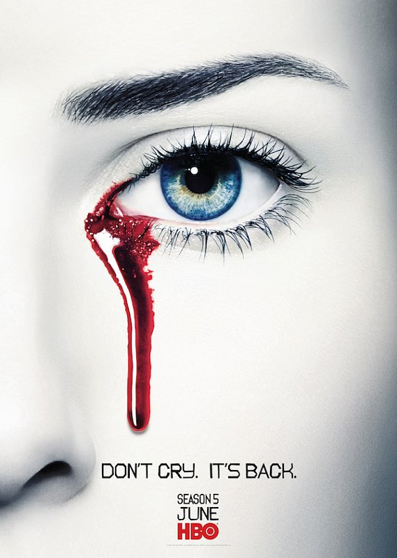 First Teaser Poster of 'True Blood' Season 5 Features Weeping Vampire