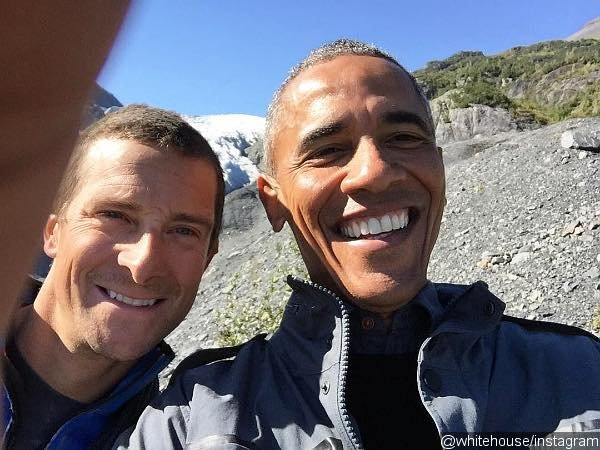President Obama Teases His 'Running Wild with Bear Grylls' Stint With Pictures