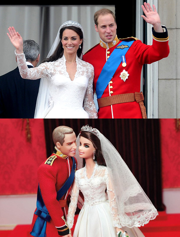 Prince William and Kate Middleton Turned Into Barbie Dolls for Wedding Anniversary